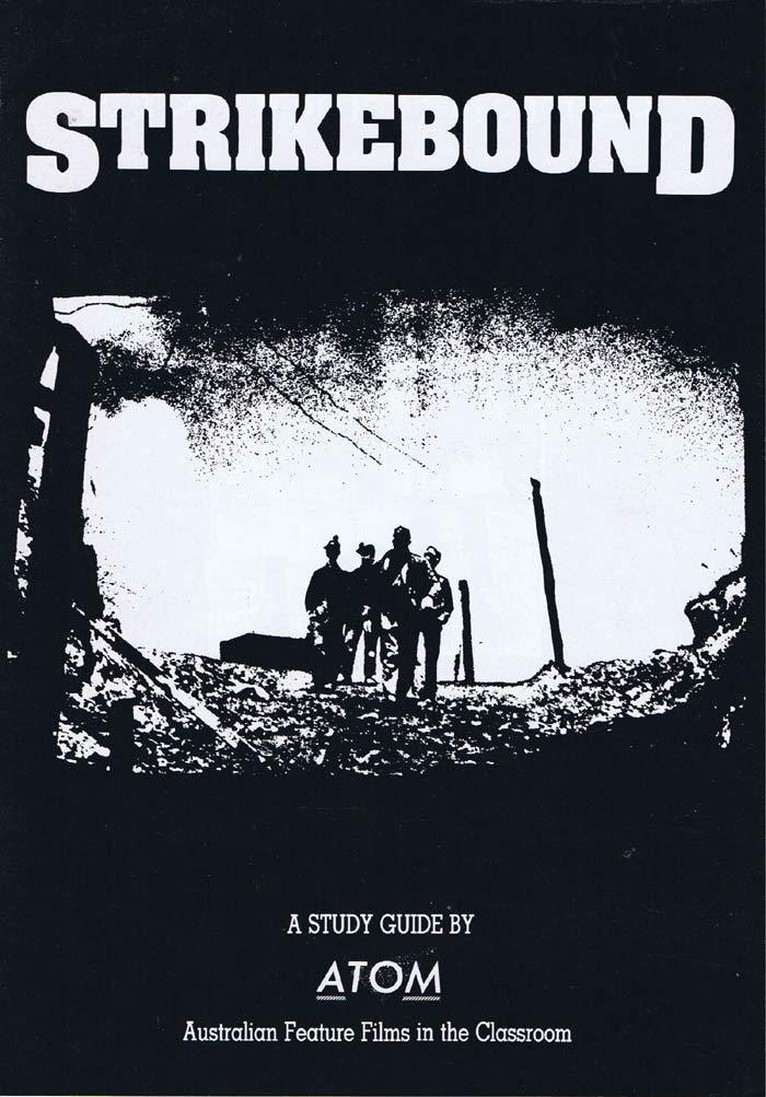 STRIKEBOUND Original Australian Movie Study Guide Chris Haywood Carol Burns