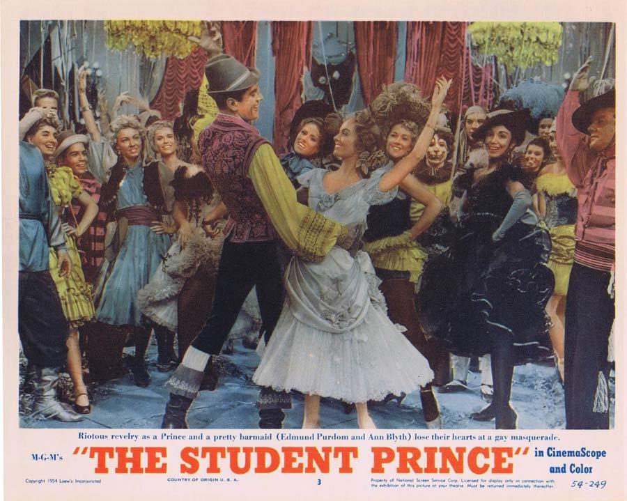 THE STUDENT PRINCE Lobby Card 3 Lana Turner Ricardo Montalban