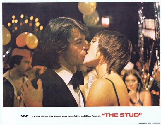 THE STUD 1978 Lobby Card 6 Oliver Tobias