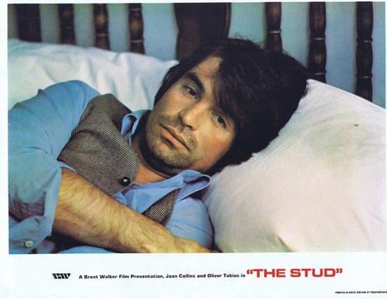 THE STUD 1978 Lobby Card 7 Oliver Tobias