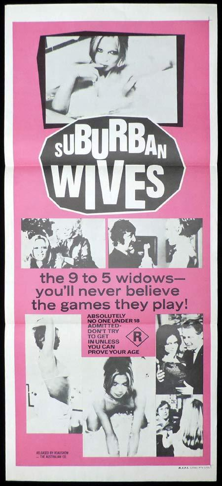 SUBURBAN WIVES Original Daybill Movie Poster