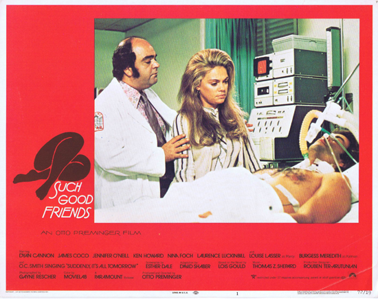 SUCH GOOD FRIENDS Lobby Card 1 Dyan Cannon Saul Bass Design