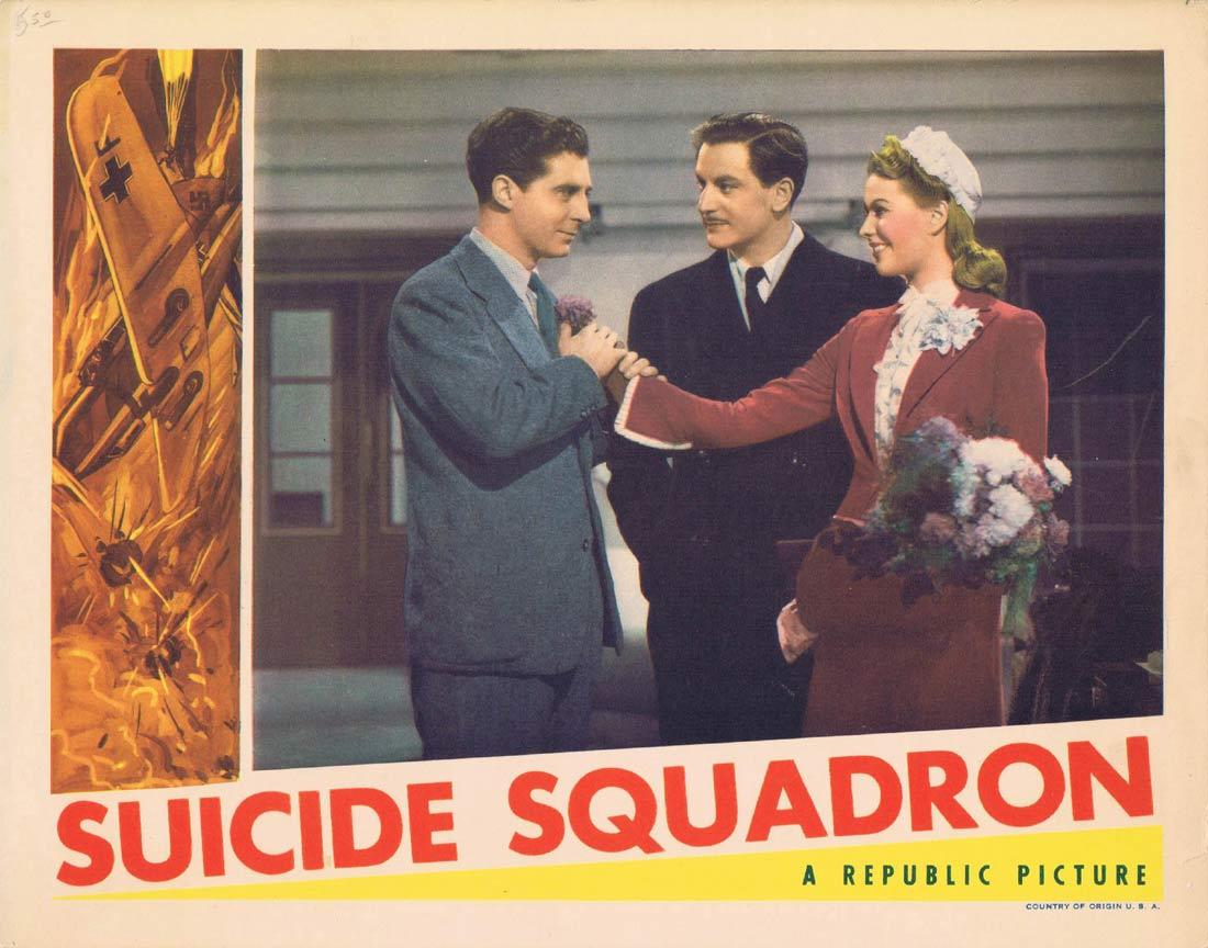 SUICIDE SQUADRON Lobby Card Anton Walbrook Sally Gray John Laurie Guy