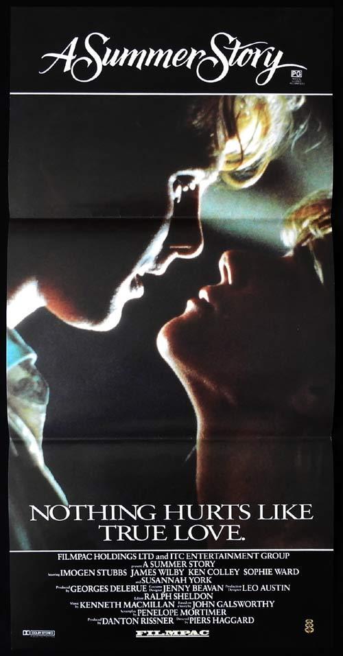 A SUMMER STORY Original Daybill Movie Poster Imogen Stubbs James Wilby