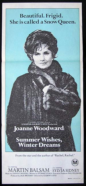 SUMMER WISHES WINTER DREAMS '73-Joanne Woodward poster