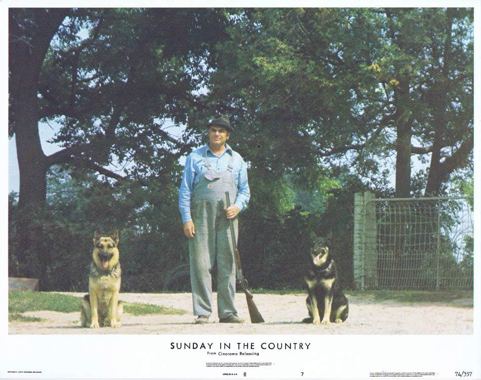 SUNDAY IN THE COUNTRY Lobby Card 7 Ernest Borgnine Michael J. Pollard
