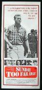 SUNDAY TOO FAR AWAY Original Daybill Movie Poster 1975 Jack Thompson