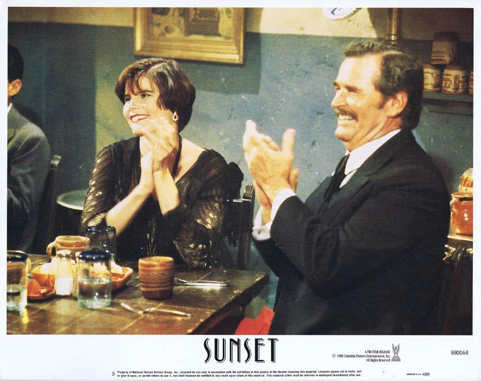 SUNSET Lobby Card 5 Bruce Willis Tom Mix Mariel Hemingway