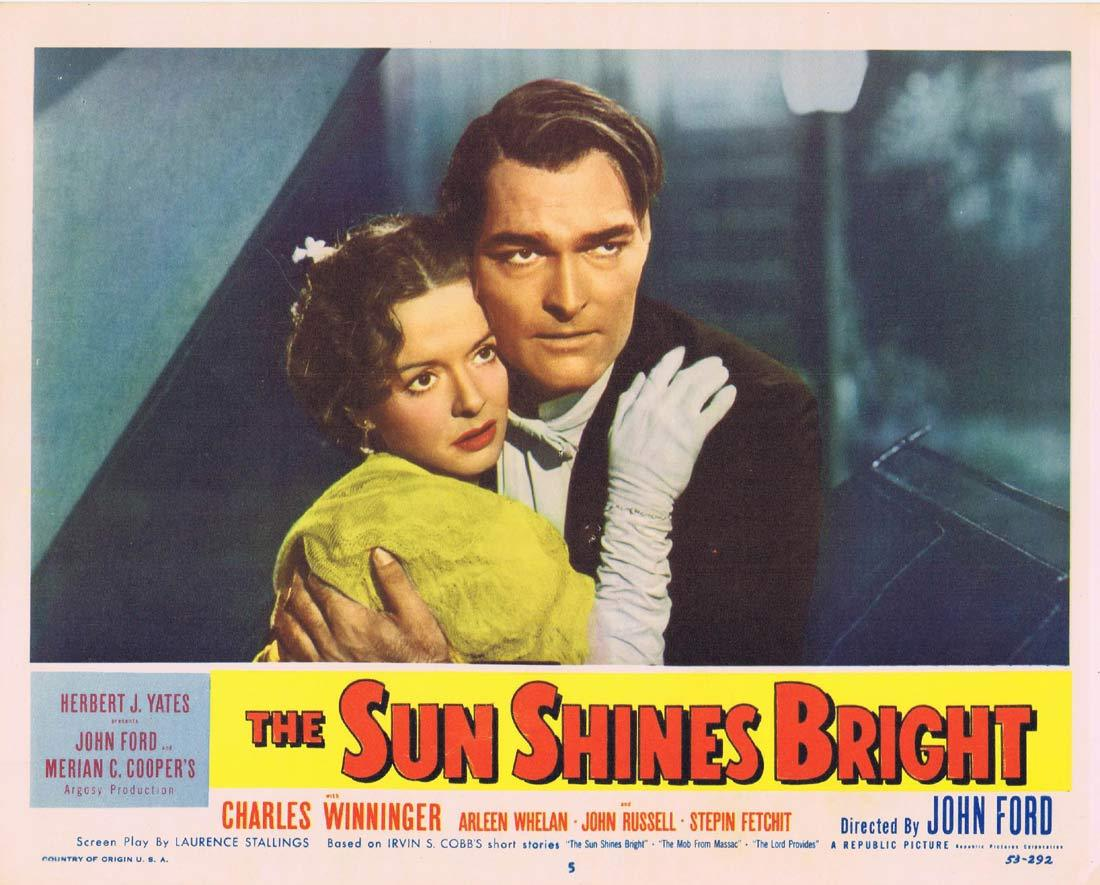 THE SUN SHINES BRIGHT Original Lobby Card 5 Charles Winninger John Ford Arleen Whelan