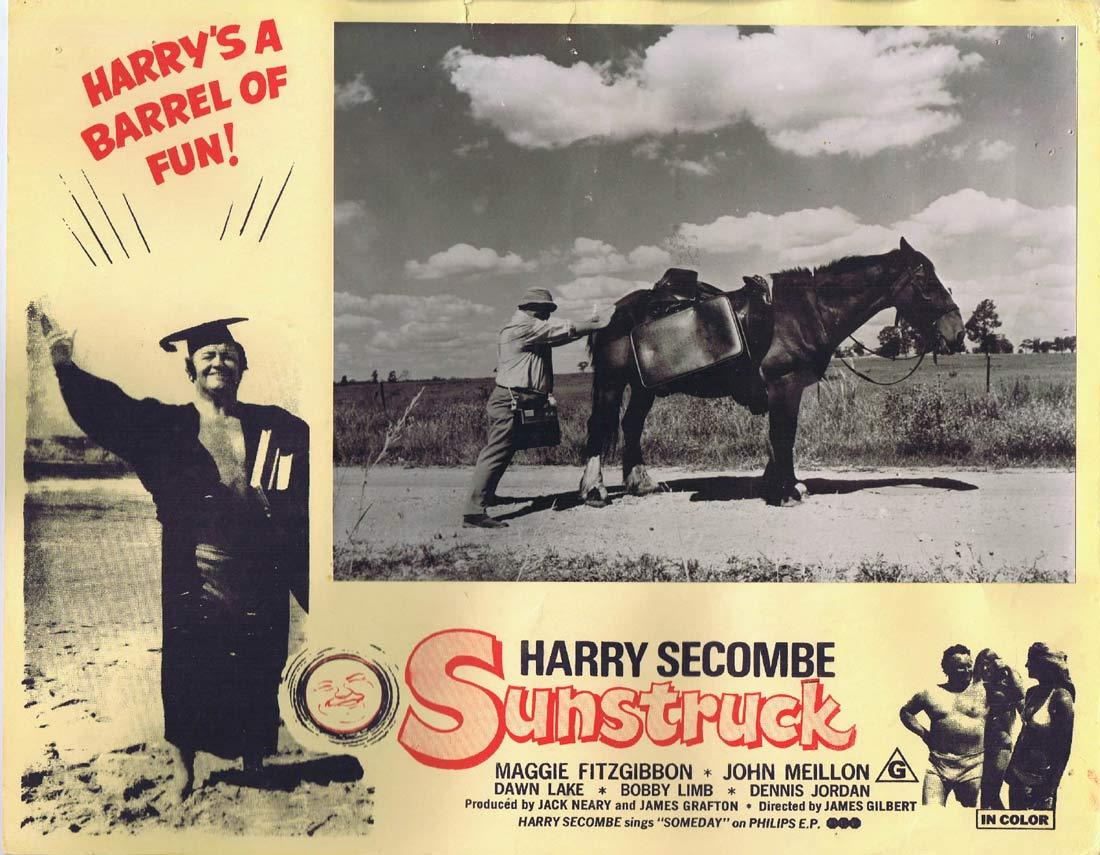 SUNSTRUCK Original Australian Lobby Card 2 Harry Secombe