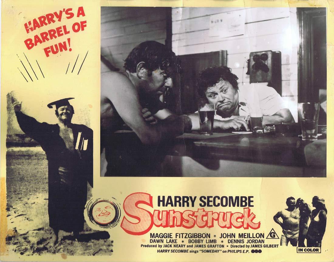 SUNSTRUCK Original Australian Lobby Card 4 Harry Secombe