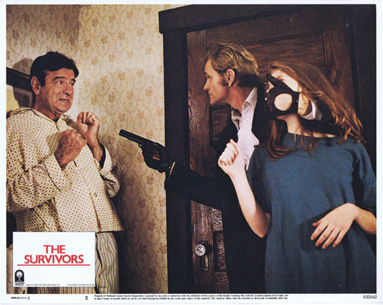 THE SURVIVORS Lobby Card 2 Robin Williams Walter Matthau
