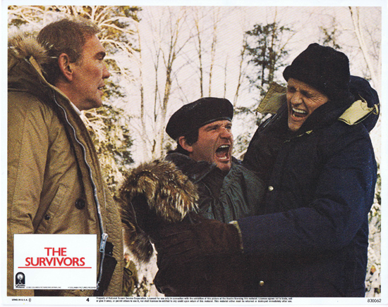 THE SURVIVORS Lobby Card 4 Robin Williams Walter Matthau
