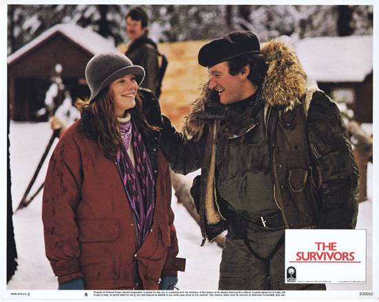 THE SURVIVORS Lobby Card 6 Robin Williams Walter Matthau