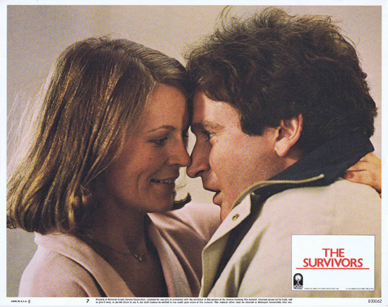 THE SURVIVORS Lobby Card 7 Robin Williams Walter Matthau