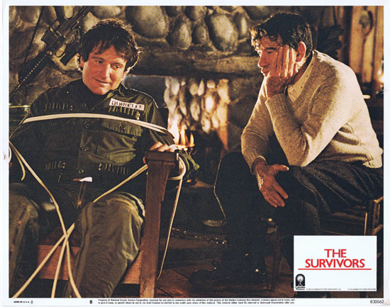 THE SURVIVORS Lobby Card 8 Robin Williams Walter Matthau