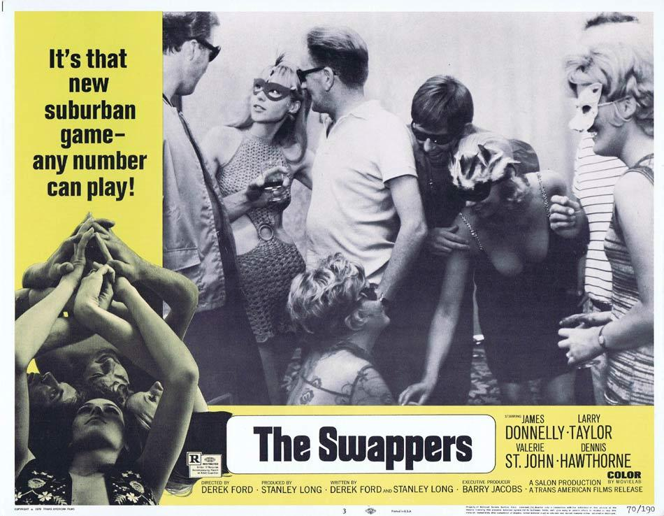 THE SWAPPERS Lobby Card 3 Derek Ford Sexploitation