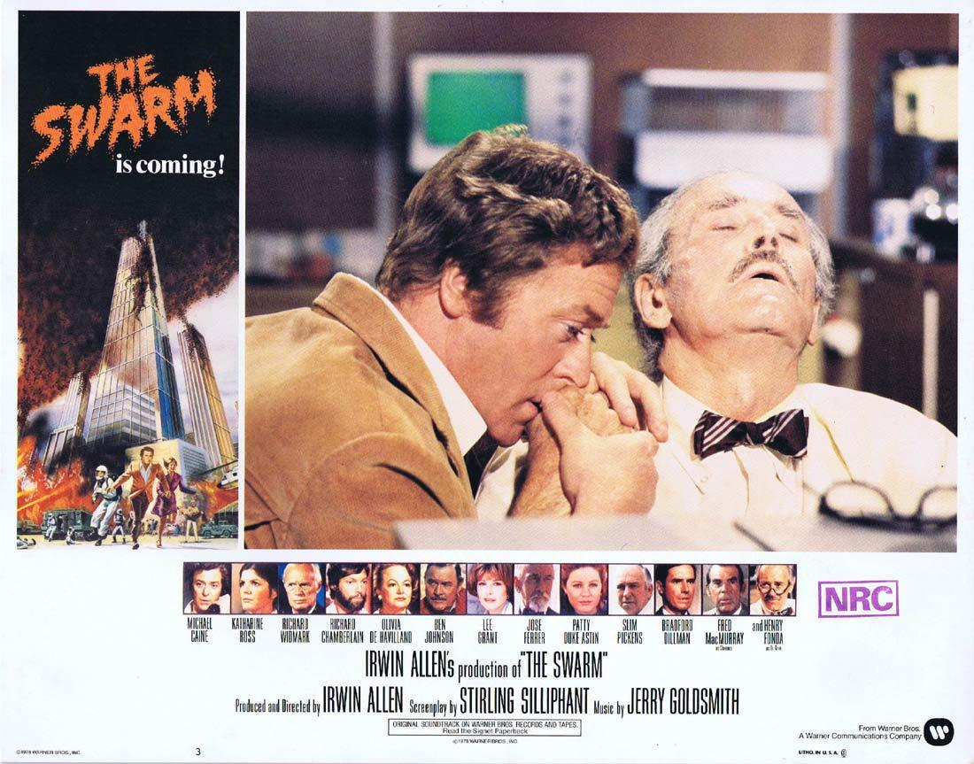 THE SWARM Lobby Card 3 Michael Caine KILLER BEES Katharine Ross