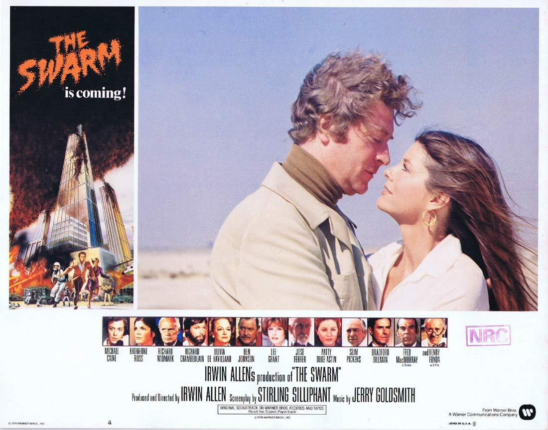 THE SWARM Lobby Card 4 Michael Caine KILLER BEES Katharine Ross