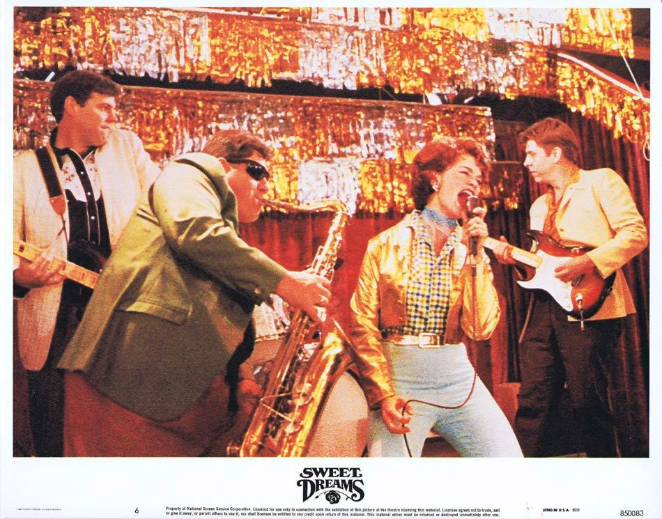 SWEET DREAMS Lobby Card 6 Jessica Lange Patsy Cline Country Music
