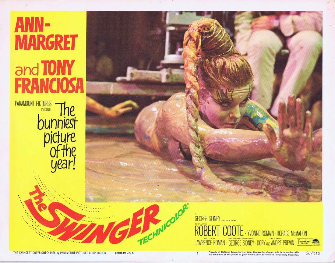THE SWINGER Lobby Card 1 Ann-Margret Anthony Franciosa