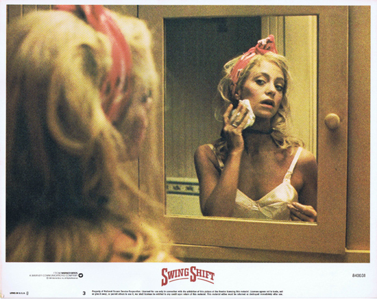 SWING SHIFT Goldie Hawn Kurt Russell Vintage Lobby Card 3