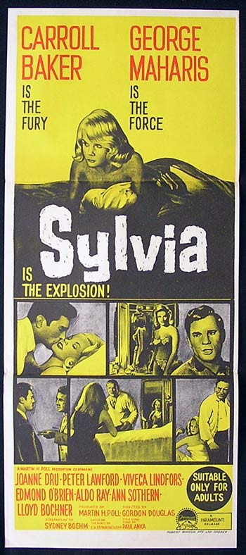 SYLVIA Original Daybill Movie Poster