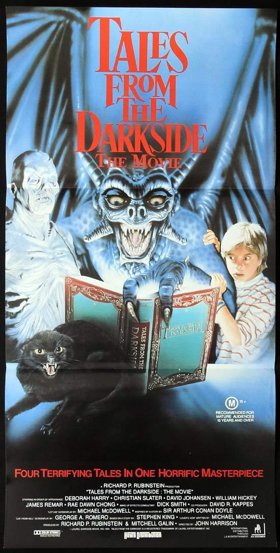 TALES FROM THE DARKSIDE Original Daybill Movie Poster Deborah Harry Horror