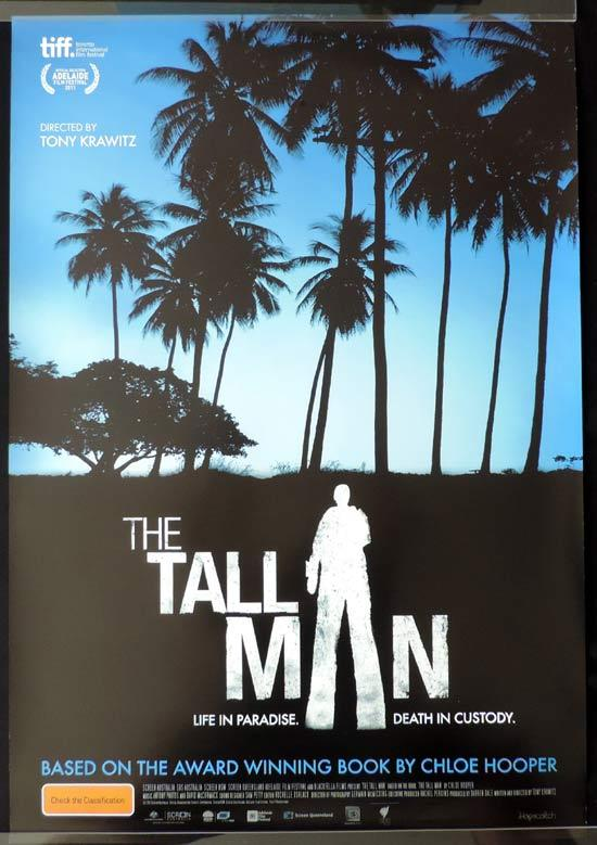 THE TALL MAN Movie Poster Rare Australian Film One sheet Movie Poster