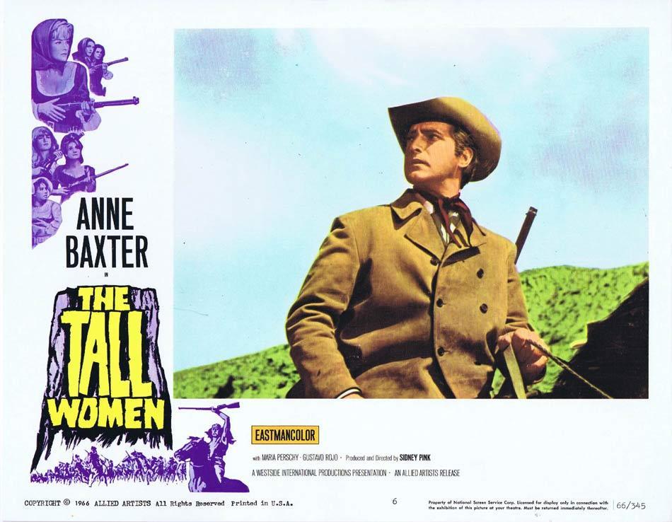 TALL WOMEN Lobby Card 6 Las 7 magnificas Anne Baxter