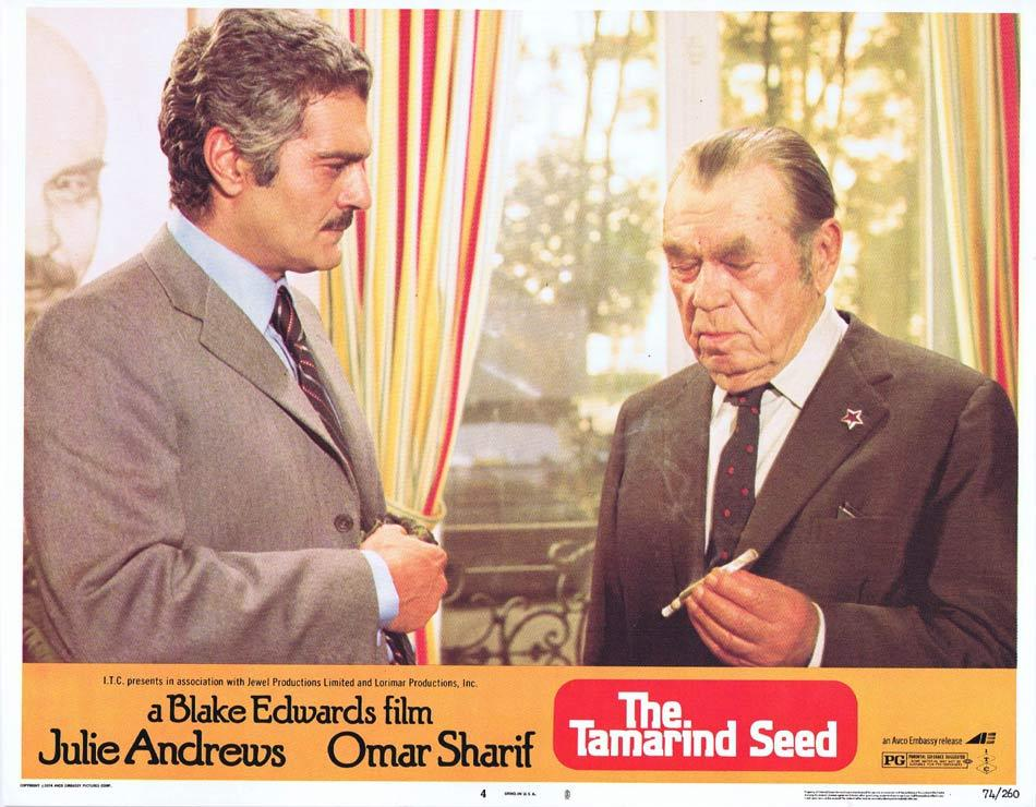 THE TAMARIND SEED Lobby Card 4 Omar Sharif