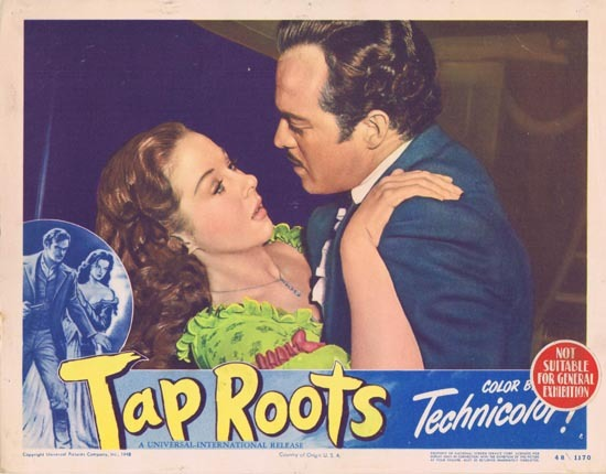 TAP ROOTS 1948 Movie Lobby Card 3 Susan Hayward Van Heflin