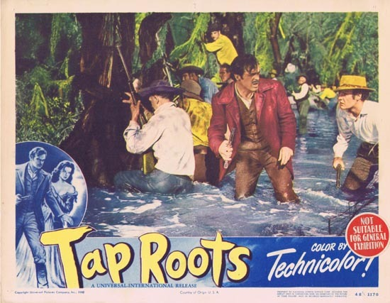TAP ROOTS 1948 Movie Lobby Card 4 Susan Hayward Van Heflin
