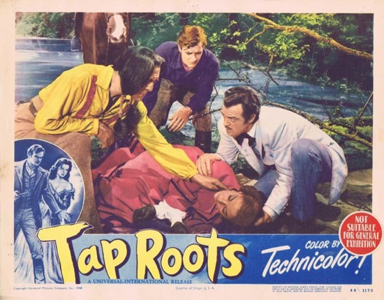 TAP ROOTS 1948 Movie Lobby Card 5 Susan Hayward Van Heflin
