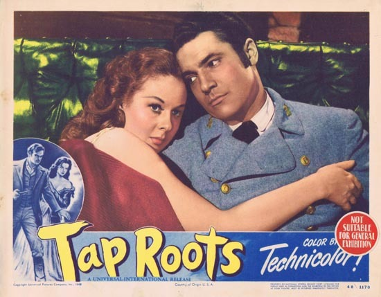 TAP ROOTS 1948 Movie Lobby Card 6 Susan Hayward Van Heflin