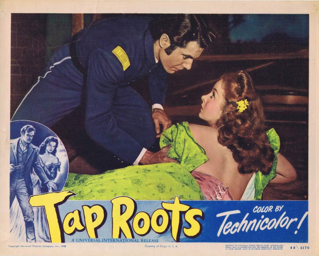 TAP ROOTS 1948 Movie Lobby Card 7 Susan Hayward Van Heflin
