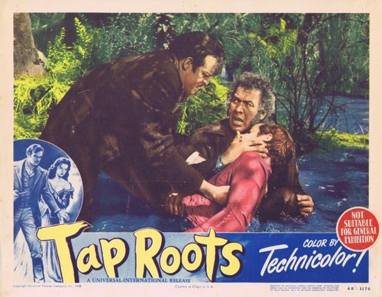 TAP ROOTS 1948 Movie Lobby Card 8 Susan Hayward Van Heflin