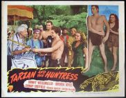 TARZAN AND THE HUNTRESS 1947 Johnny Weissmuller RARE Lobby card 8