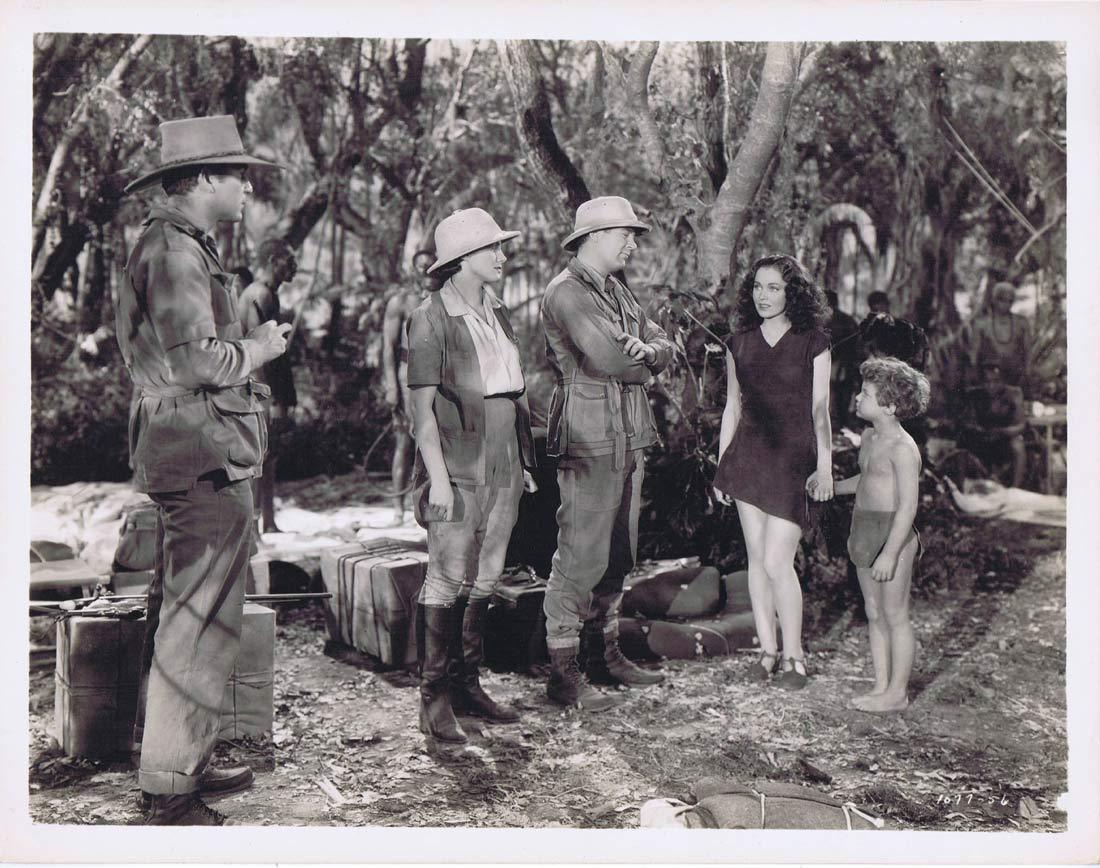 TARZAN FINDS A SON Vintage Movie Still 19 Johnny Sheffield Maureen O'Sullivan