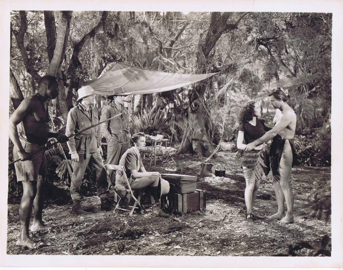 TARZAN FINDS A SON Vintage Movie Still 20 Johnny Weissmuller Maureen O'Sullivan