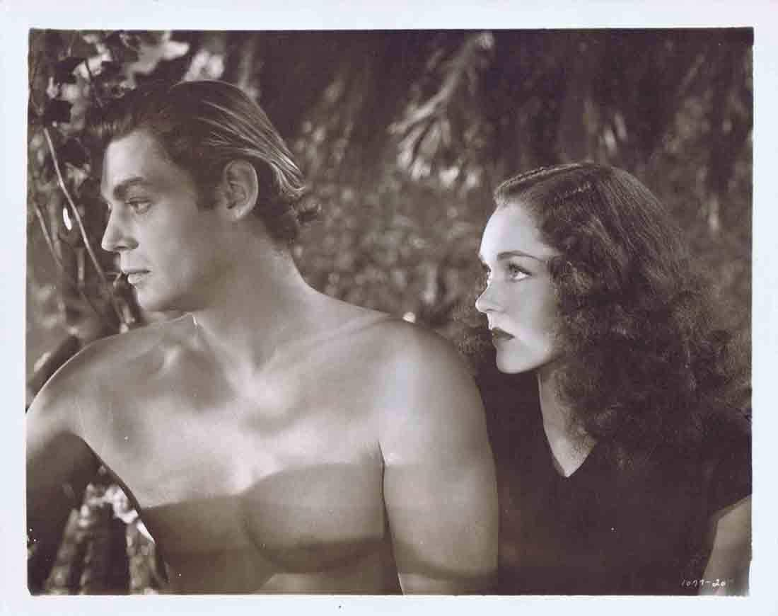 TARZAN FINDS A SON 1939 Movie Still 48 Johnny Weissmuller trains Elephant