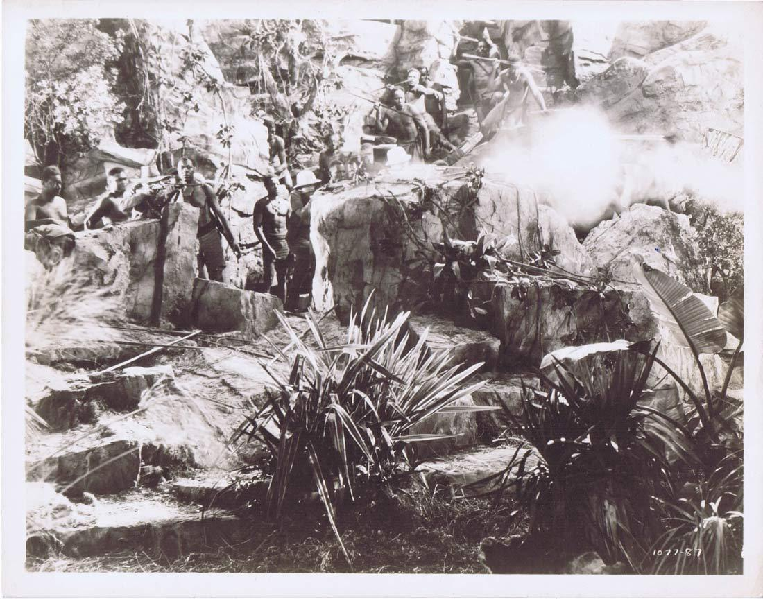TARZAN FINDS A SON Vintage Movie Still 9 Johnny Weissmuller Maureen O'Sullivan