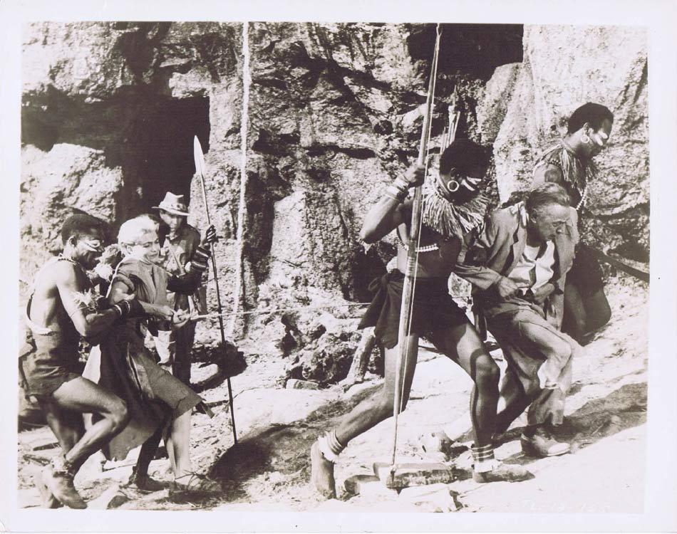 TARZAN AND THE LOST SAFARI Vintage Movie Still 19 Wilfrid Hyde White Yolande Donlan