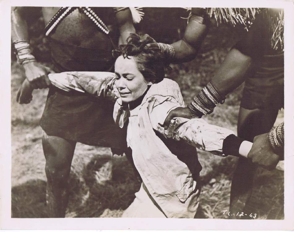 TARZAN AND THE LOST SAFARI Vintage Movie Still 30 Betta St John Captured