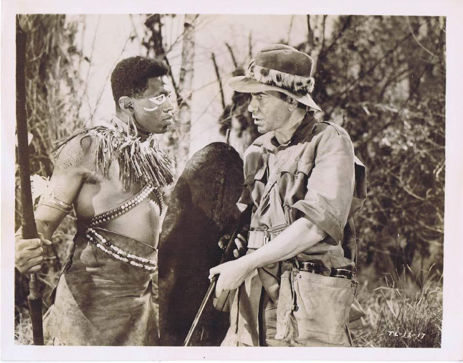 TARZAN AND THE LOST SAFARI Vintage Movie Still 5 Robert Beatty with Natives