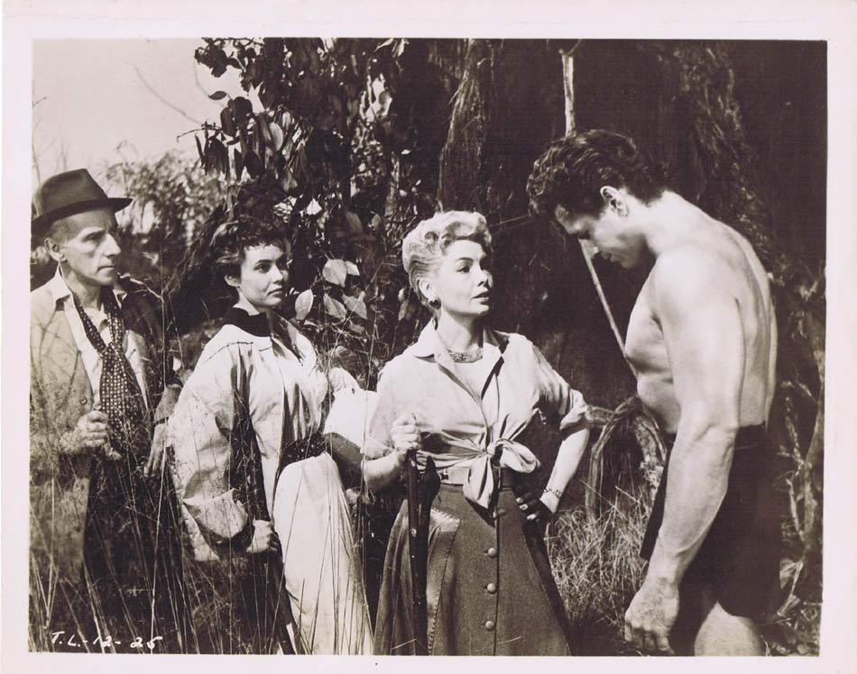 TARZAN AND THE LOST SAFARI Vintage Movie Still 8 Gordon Scott Yolande Donlan