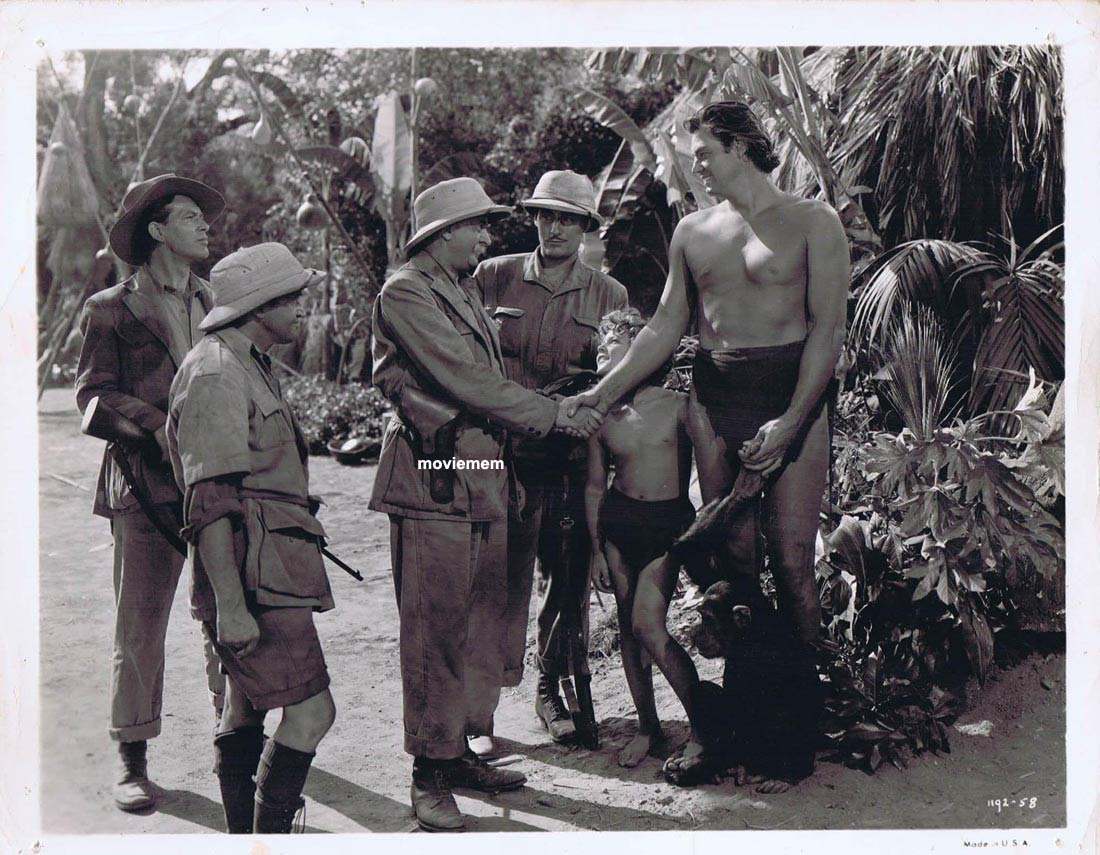 TARZAN'S SECRET TREASURE Movie Still 17 Johnny Weissmuller