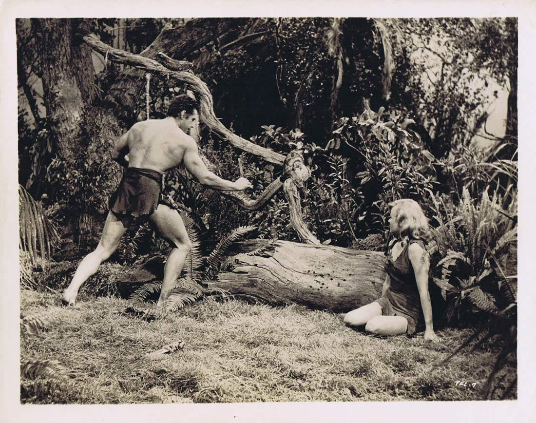 TARZAN'S FIGHT FOR LIFE BW Movie Still 11 Gordon Scott Eve Brent