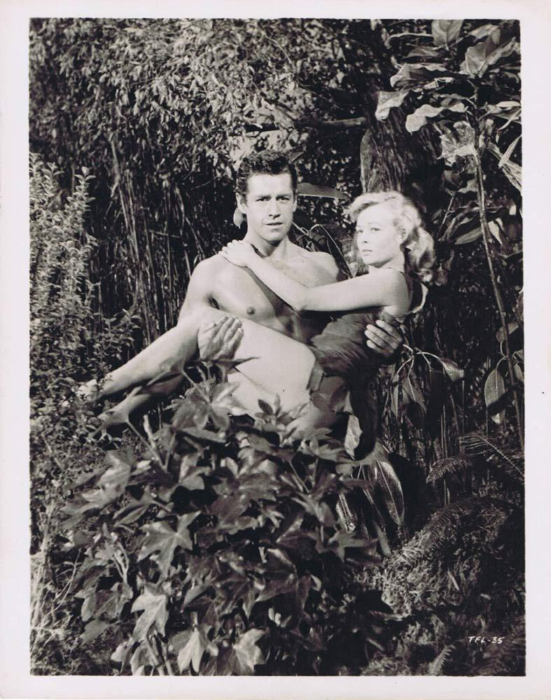 TARZAN'S FIGHT FOR LIFE BW Movie Still 13 Gordon Scott Eve Brent
