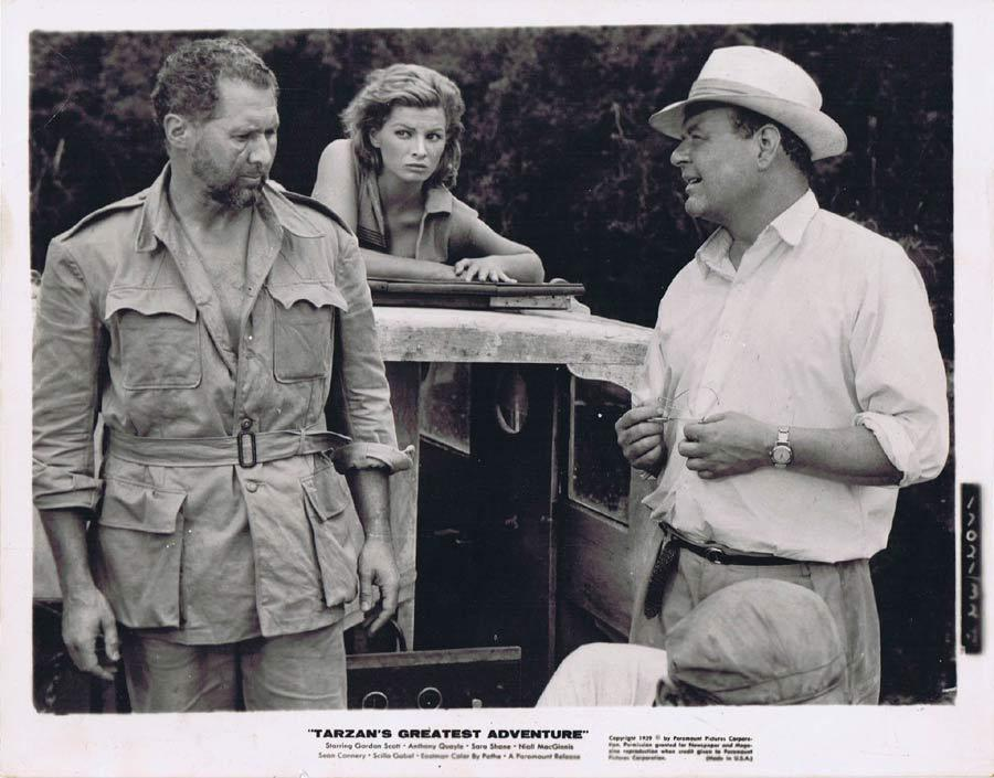 TARZAN'S GREATEST ADVENTURE Movie Still 21 Anthony Quayle Safari Suit!